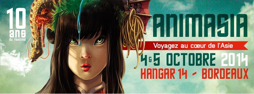 Le Jardin des marques présent au festival Animasia 2014