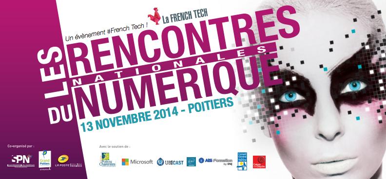 Un atelier Transmédia aux Rencontres Nationales du Numérique de Poitiers